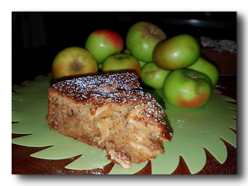 torta integrale di meline selvatiche