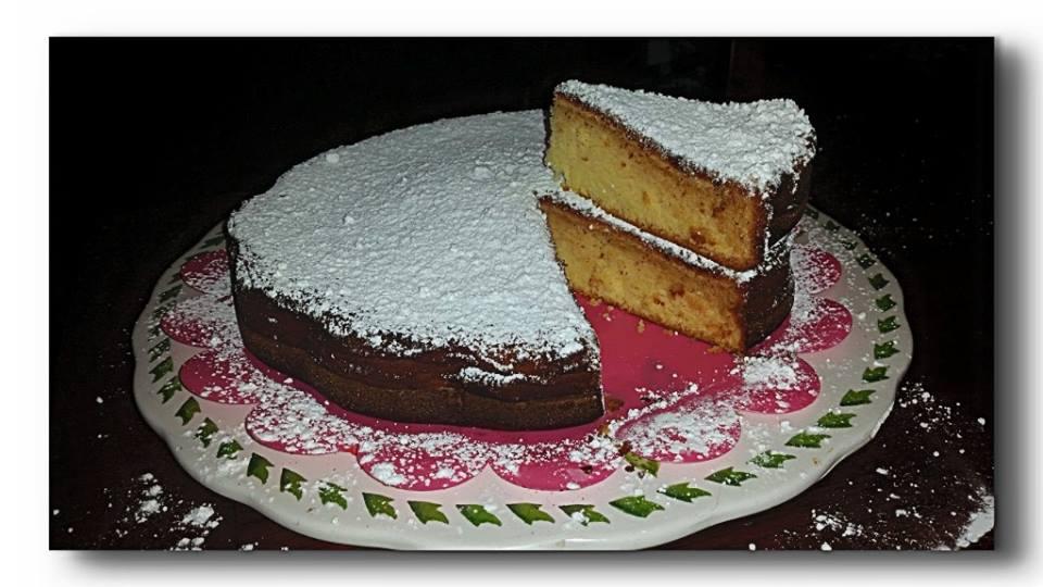 torta paradiso, impasto base per torte da farcire