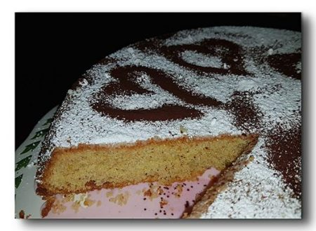 torta soffice di nocciole
