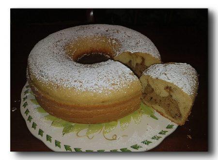 ciambella cuor di caffè nel fornetto Versilia