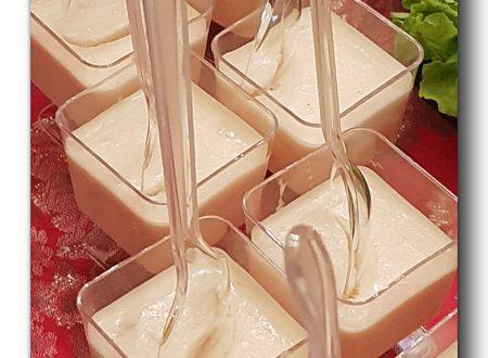 Panna cotta al salmone affumicato