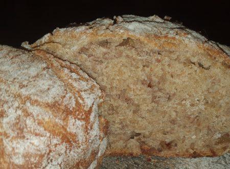 Pane dolce integrale alle noci, con pasta madre