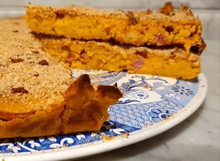 Torta salalata zucca e speck