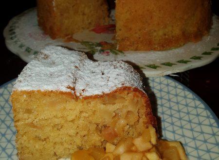 Ciambellone alle mele caramellate, fornetto Versilia