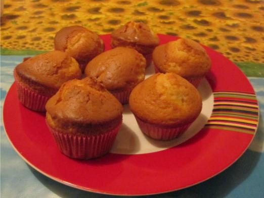 muffin all'arancia e pera
