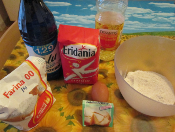 ingredienti per muffin integrali