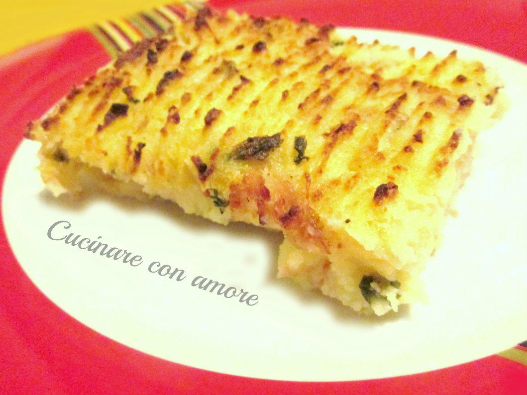 Tortino di patate e spinaci cucinare con amore for Cucinare spinaci
