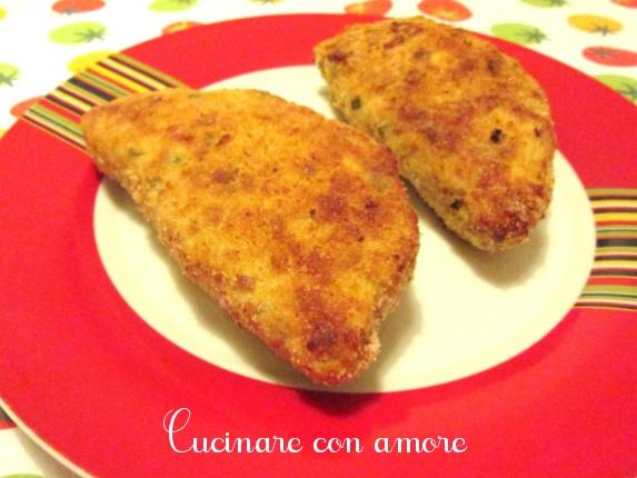 Panzerotti di carne al forno cucinare con amore for Cucinare wurstel al forno