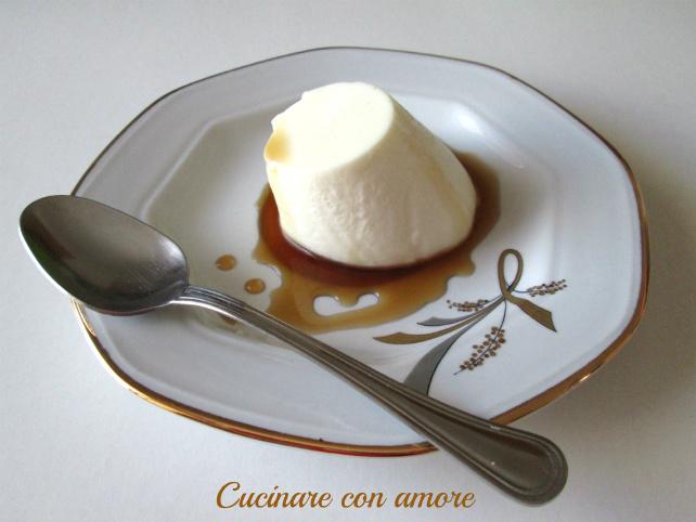 panna cotta al cream caramel