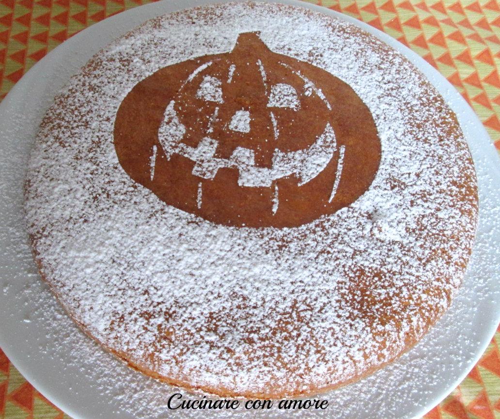 Torta alla zucca cucinare con amore for Cucinare x halloween