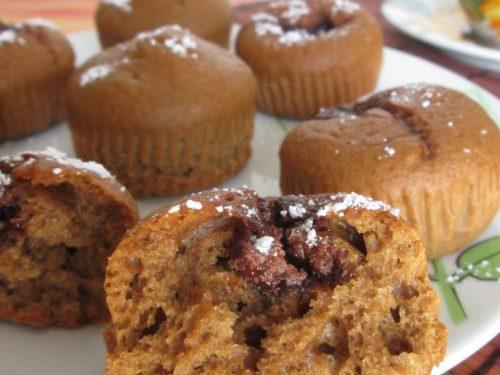 Muffins al caffè d'orzo