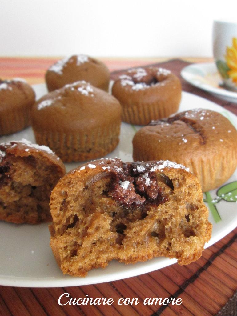 muffin al caffè d'orzo