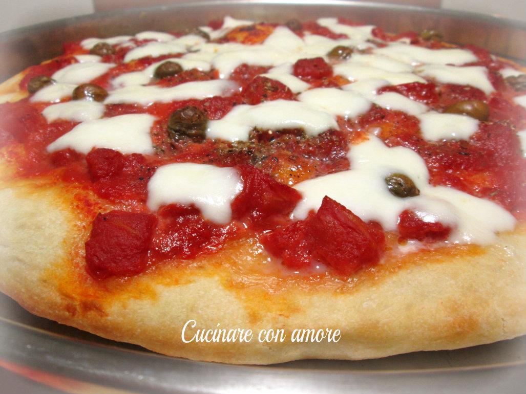 pizza in teglia soffice