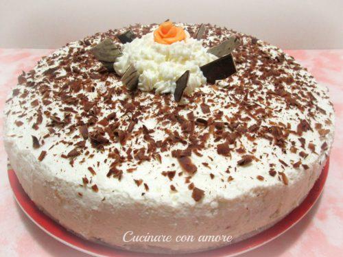 Torta irish cream e crema al cioccolato