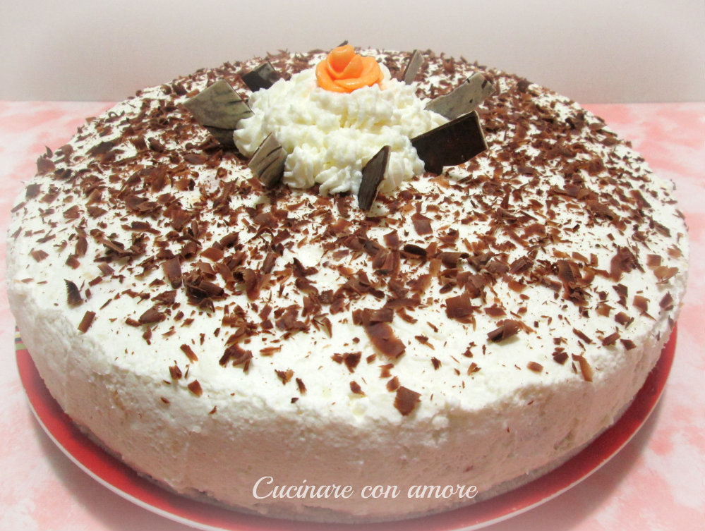 Torta irish cream e crema al cioccolato