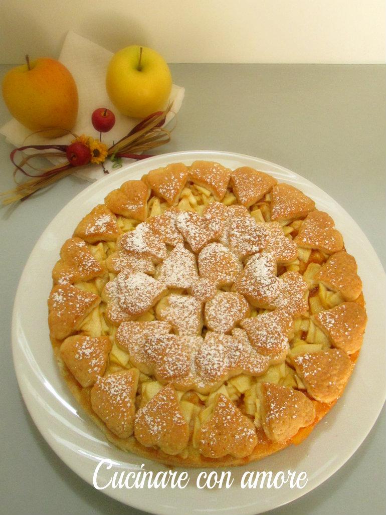 Crostata di mele cucinare con amore for Crostata di mele