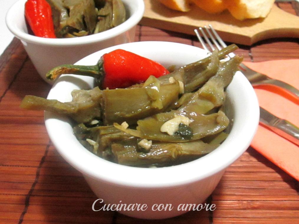 Carciofi fritti dorati cucinare con amore for Cucinare carciofi