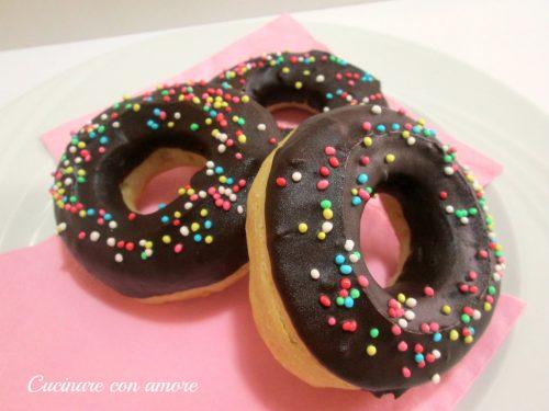 Donuts al forno con lievito madre