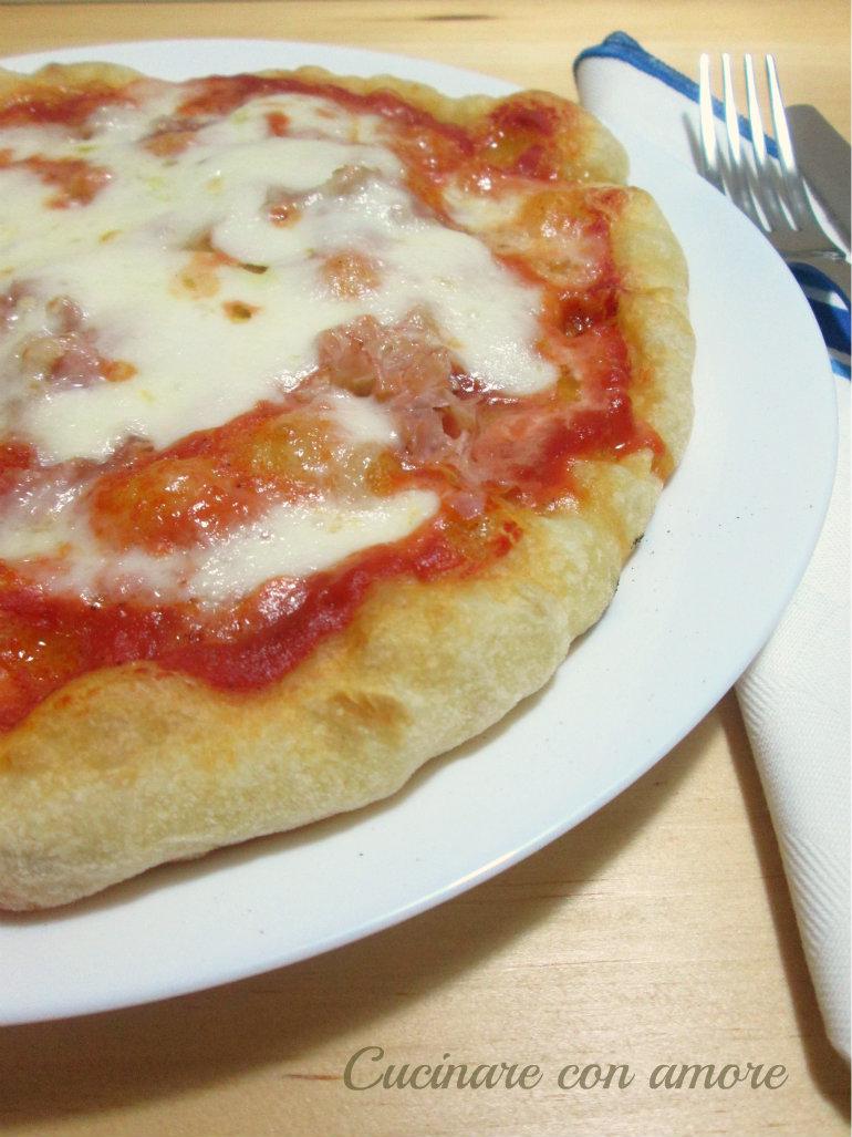 Pizza con semola rimacinata