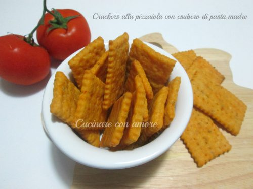 Crackers alla pizzaiola