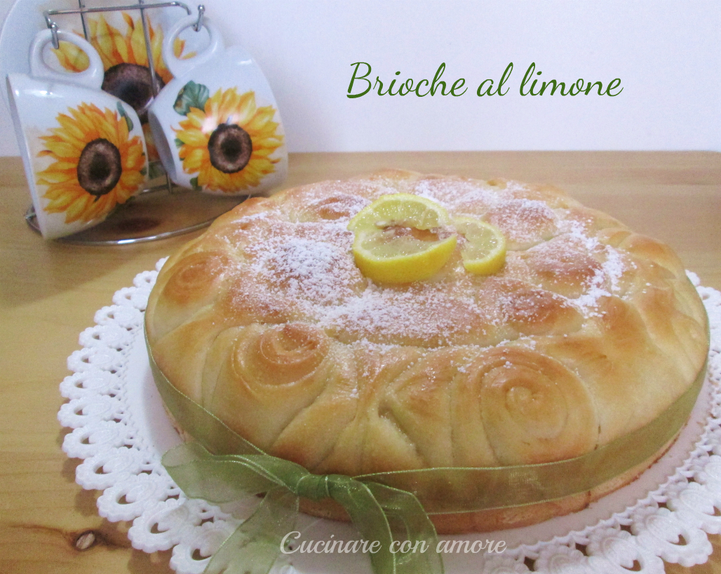 Brioche al limone