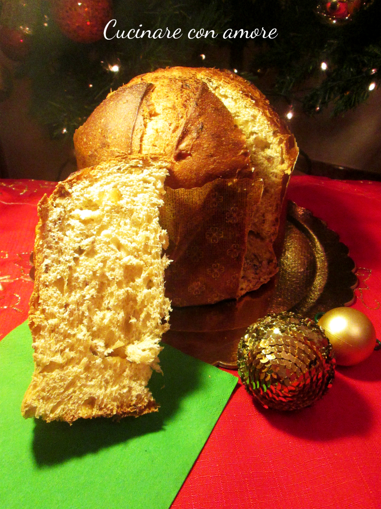 Panettone all'olio evo senza latticini Francesco Favorito
