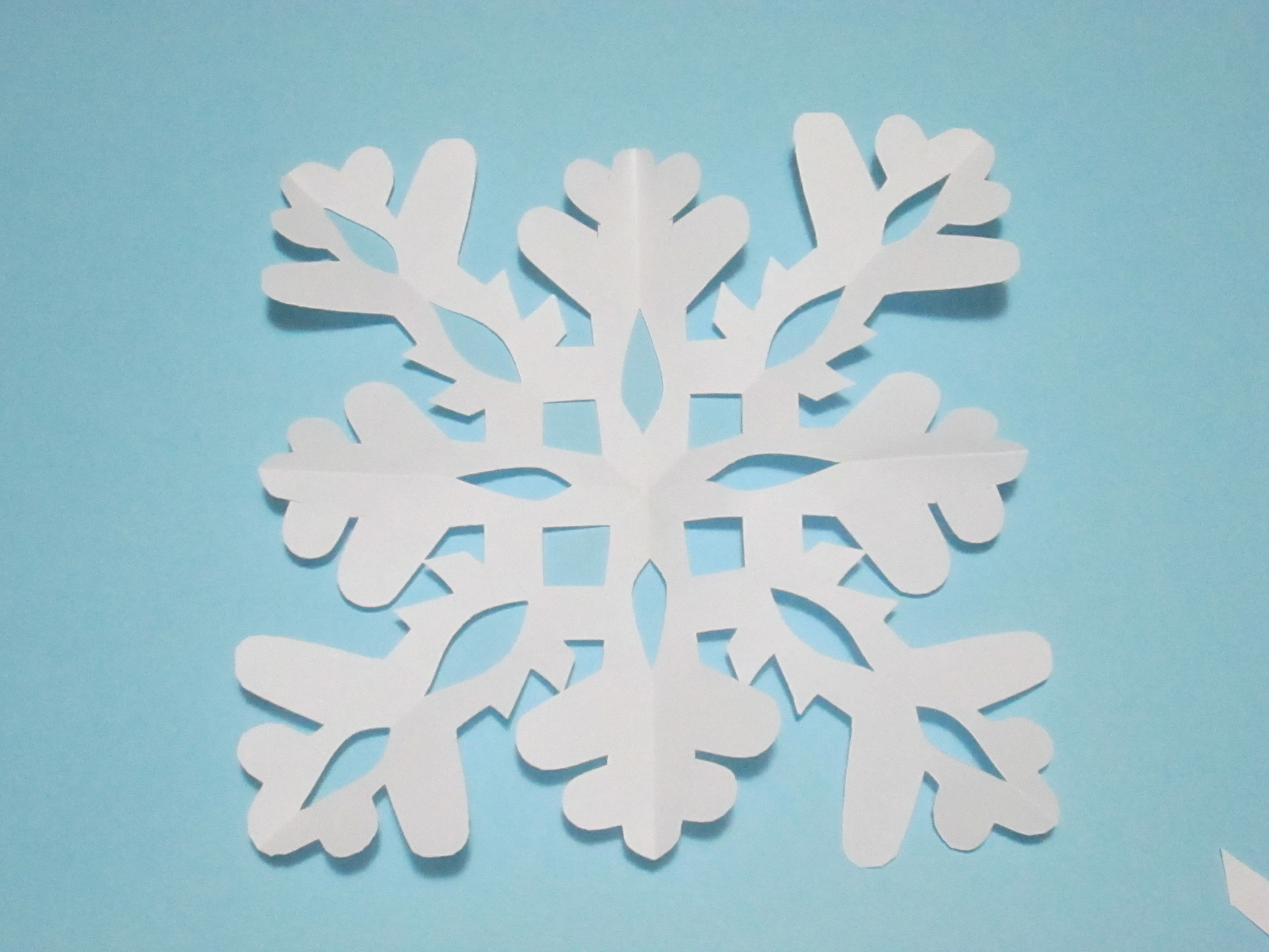 Fiocchi Di Neve Di Carta Tutorial : Come fare fiocchi di neve di carta facili: come fare un fiocco