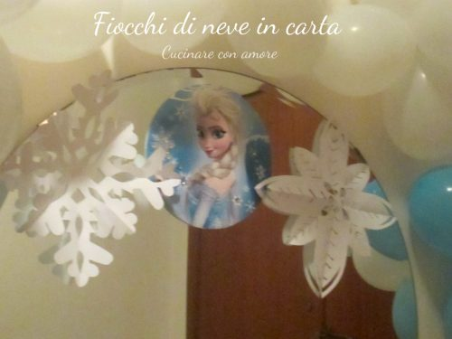 Tutorial fiocchi di neve in carta