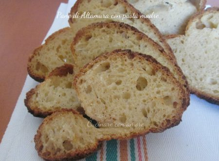 Pane di Altamura con pasta madre