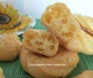 Pasta choux con margarina