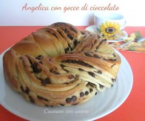 Angelica con gocce di cioccolato