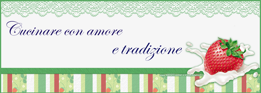 Cucinare con amore e tradizione