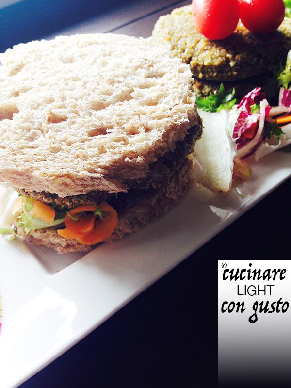 Burger vegetariani cucinare light con gusto for Cucinare vegetariano