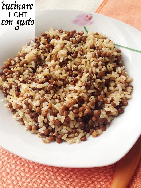 Riso integrale e lenticchie di colfiorito cucinare light - Cucinare le lenticchie ...