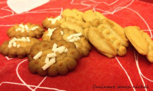 Biscotti alle castagne nichel-free