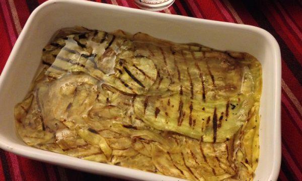 Carpaccio di melanzane nichel-free