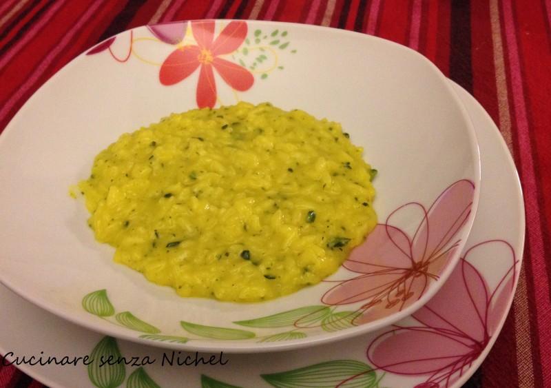 Risotto alle zucchine cucinare senza nichel for Cucinare risotto