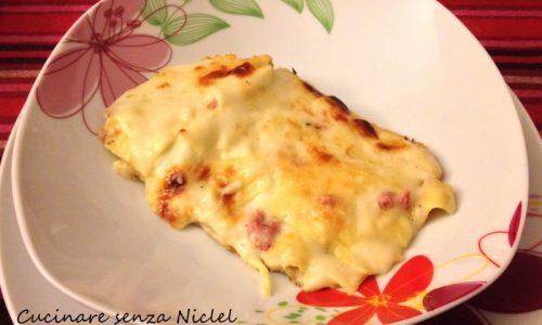 Lasagne al ragù bianco e zucchine nichel-free