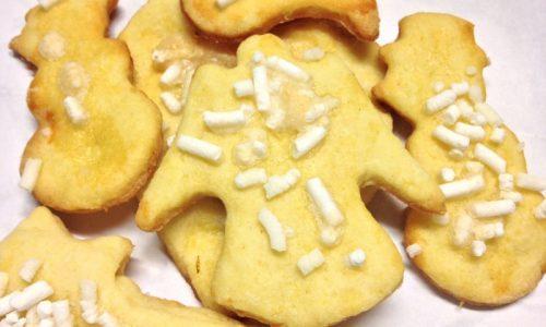 Biscotti delle feste nichel-free