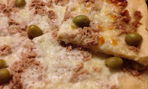 Pizza al tonno nichel-free