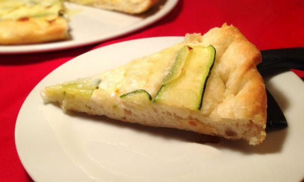 Pizza zucchine e patate nichel free