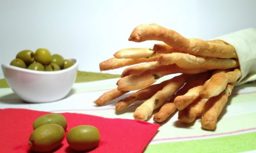 Grissini alle olive nichel free