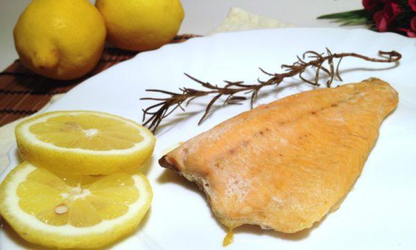 Filetti di trota al forno nichel free