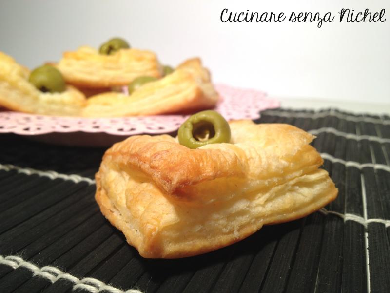 Salatini di finta pasta sfoglia cucinare senza nichel - Cucinare olive appena raccolte ...