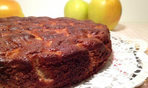 Torta di castagne e mele