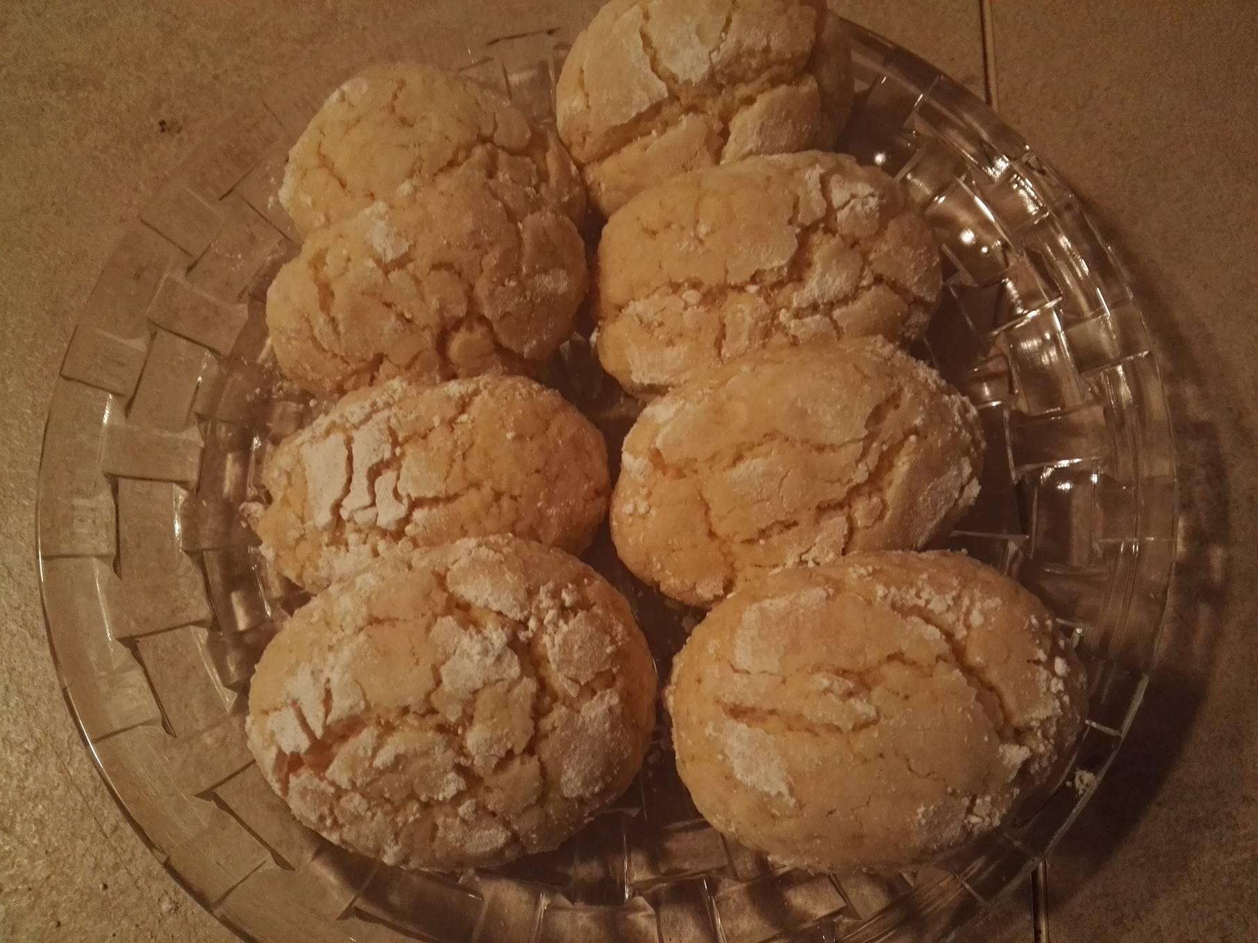 biscotti al limoncello / amaretto