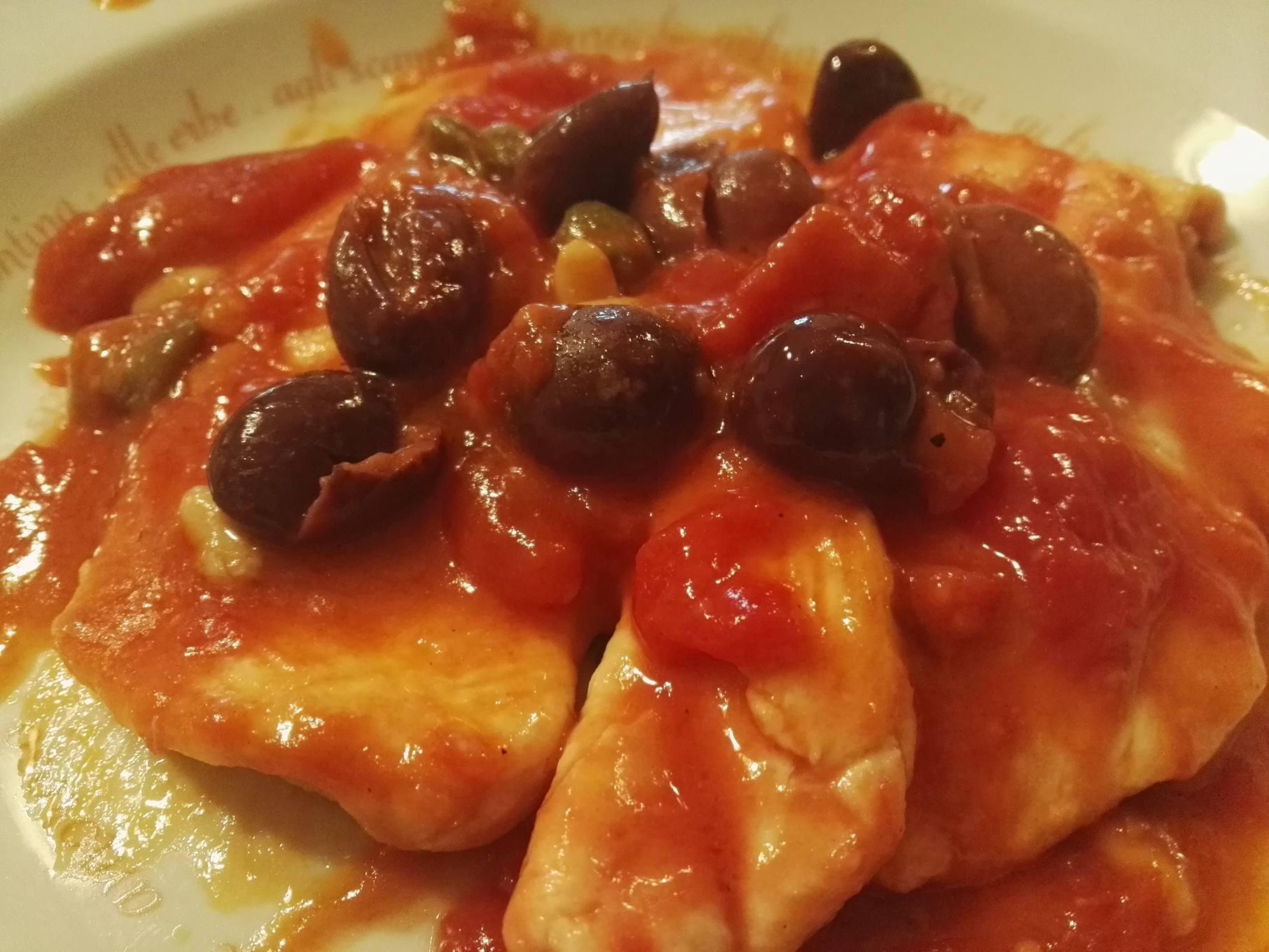 Petto di pollo all'italiana