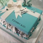 Torta tiffany & co