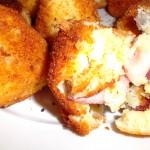 Polpette di patate speck e formaggio