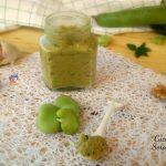 Pesto di fave e noci